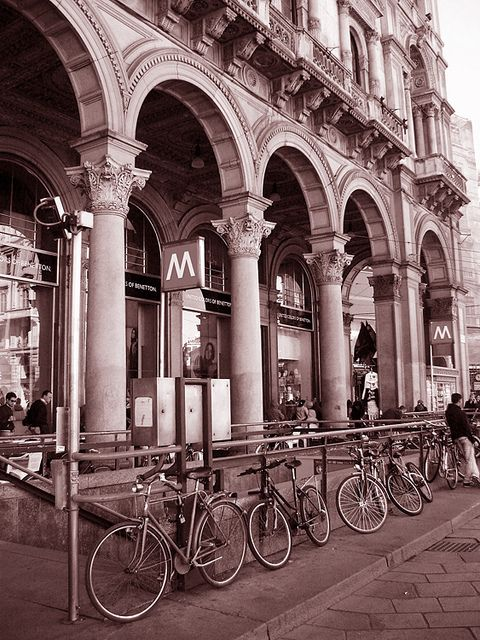 portici bici milano