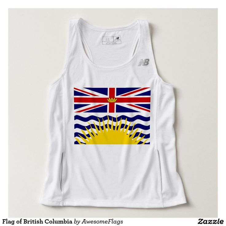 Flag of British Columbia Tank Top