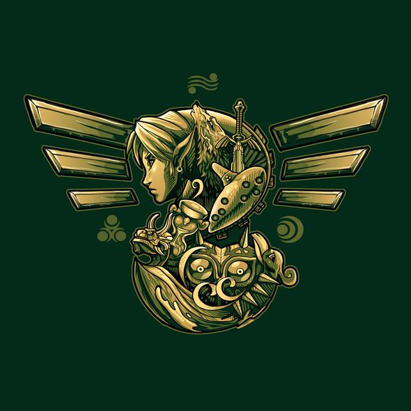 The Legend of Zelda: Ocarina of Time Logo