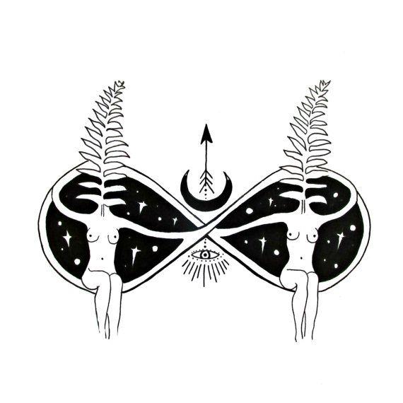 Sisters of the Infinite / MerakiLabbe / Sacred Geometry <3