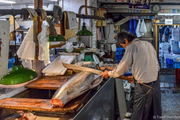 Tsukiji Fish Market | What to do in Tokyo, Japan