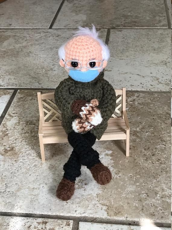 Bernie S Mittens Crochet Doll Pattern Pdf Instant Download Etsy In 2021 Crochet Doll Pattern Doll Pattern Crochet Doll