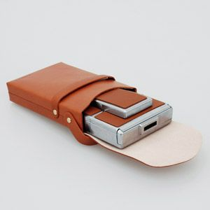 Old-school leather case is definitely the best way to protect your SX 70 camera