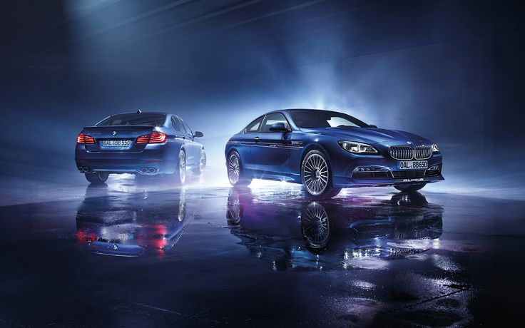 Wallpapers: ALPINA B5 and B6 Edition 50