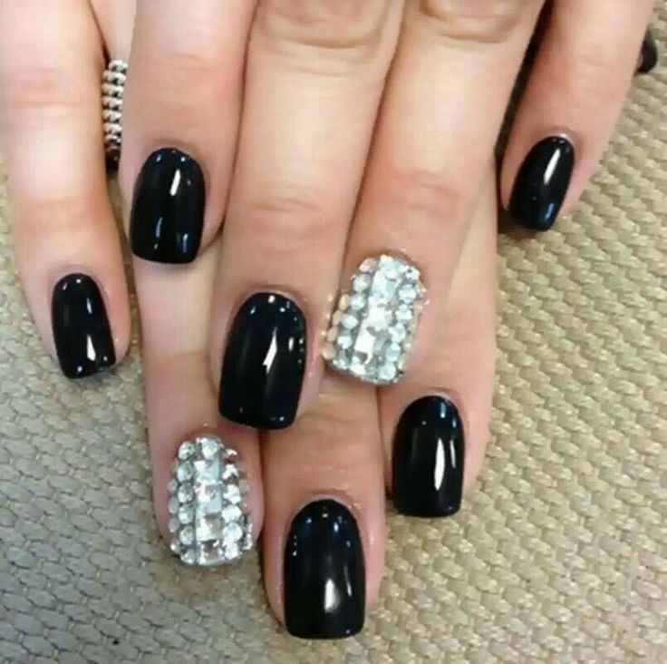 Black and bling