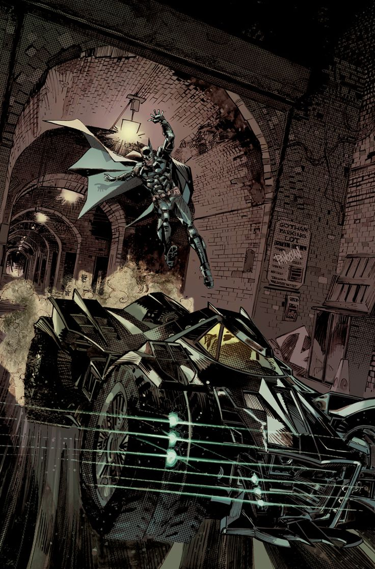 Batman: Arkham Knight Batmobile Cover by urban-barbarian.deviantart.com on @DeviantArt