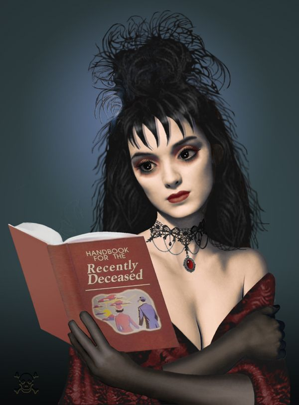 Lydia (Beetlejuice) by James Parce : alternativeart