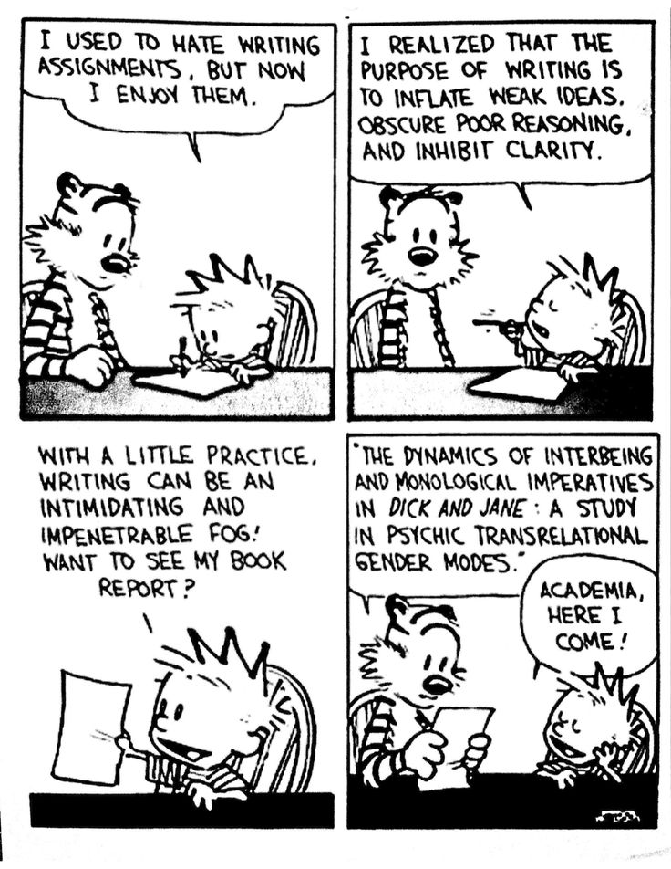 academic writing comics contest