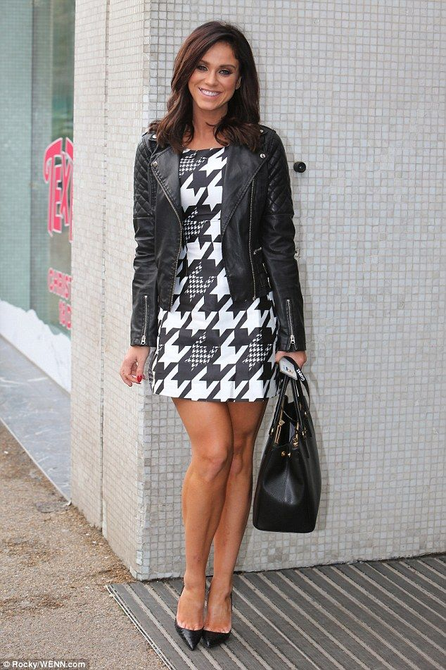 If you've got it... Stepping out at the ITV Studios on Wednesday, Vicky Pattison proved th...