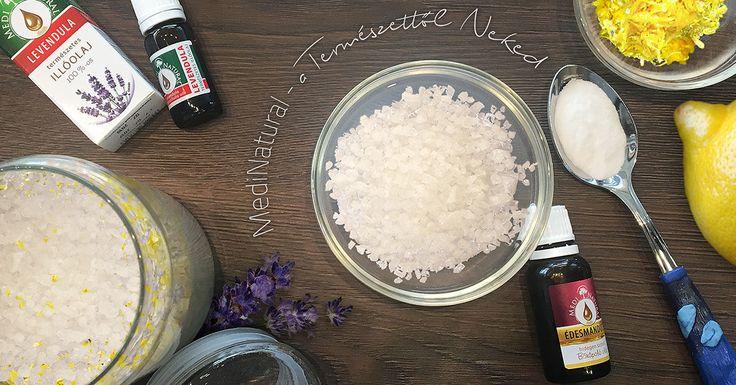 Recept | illatos, házilag készült fürdősó hűvös estékre