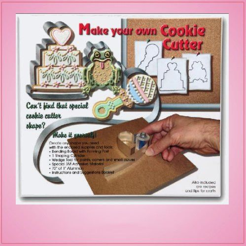 Custom Cookie Cutters Cookie Cutter Crafting Kit