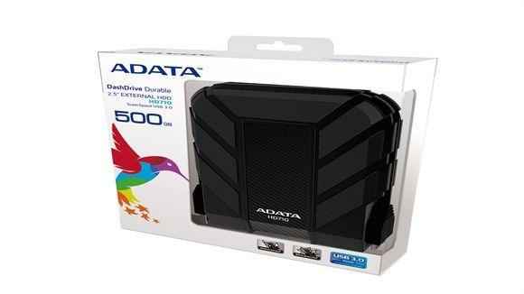 ADATA DASH DRIVE HD710 2.5″ 500GB 5400RPM USB 3.0 BLACK -  - http://sellitsocially.co.uk/adata-dash-drive-hd710-2-5-500gb-5400rpm-usb-3-0-black/