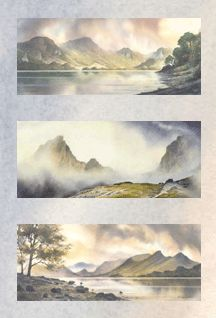 Paintings of Mountains, Lake District & Watercolour Landscape | John  Campbell Mountain Painter