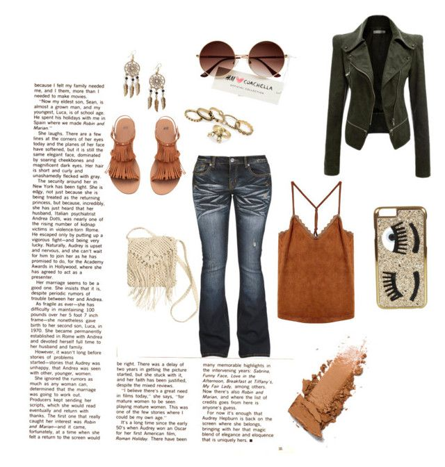 """""""Casually jeans @ love"""" by danielsan on Polyvore featuring H&M, Boohoo and Chiara Ferragni"""