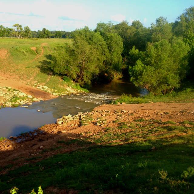 Low water crossing Water, Fort bend, River