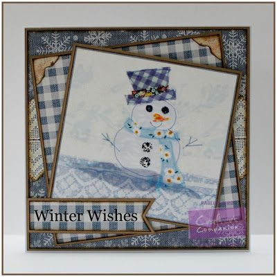 Pauline Bird, Romany Christmas CD, Toppers Design 5 #crafterscompanion #Christmas