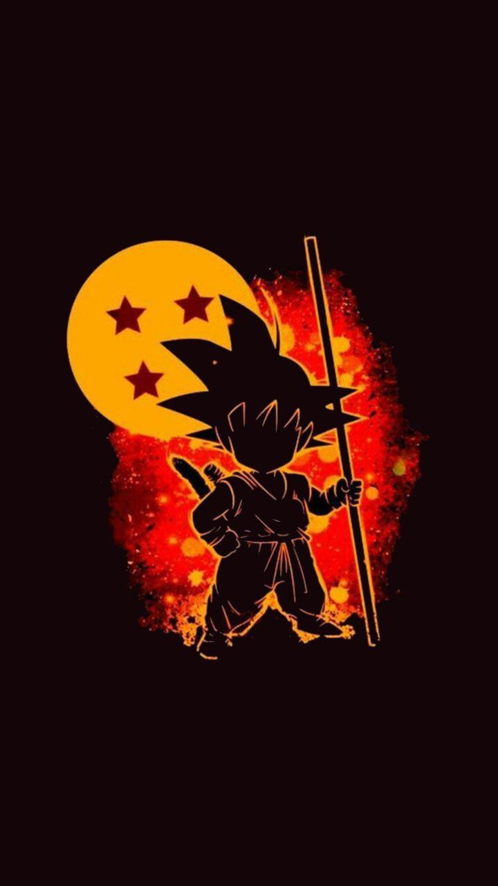 Goku Silhouette Wallpaper In 2020 Dragon Ball Artwork Anime Dragon Ball Super Dragon Ball Wallpapers