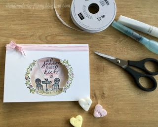 Handmade by Fanny: Blog Hop Stamp Impressions Sweet Hearts