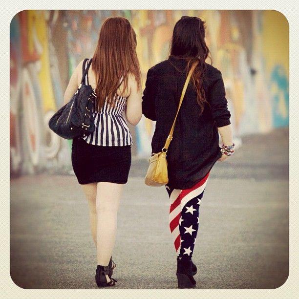 Stars & Stripes in Bondi (for our friends in NY hunkering down for Hurricane Sandy) #bondi #atbondi #NY #fashion #sydney #stars