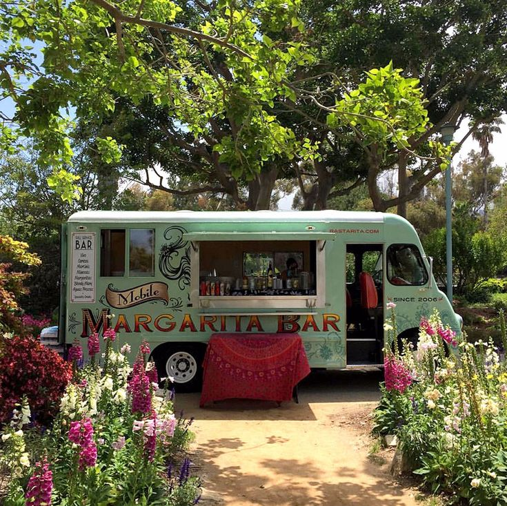 Food Truck Wedding Ideas: A Mobile Margarita Truck? Cheers! Move Over Hamburgers And