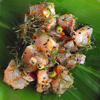 Hawaiian Poke wasabi ono