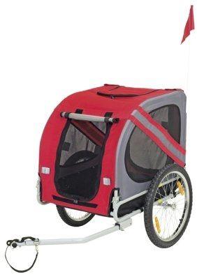 En meget hendig sykkelvogn til hund eller varer, for alle slags turer. Beskytter mot alle typer vær, Passer til alle typer turer Både korte turer i butikken, og turer i skog og mark. Du finner den i vår dyrebutikk på nett!