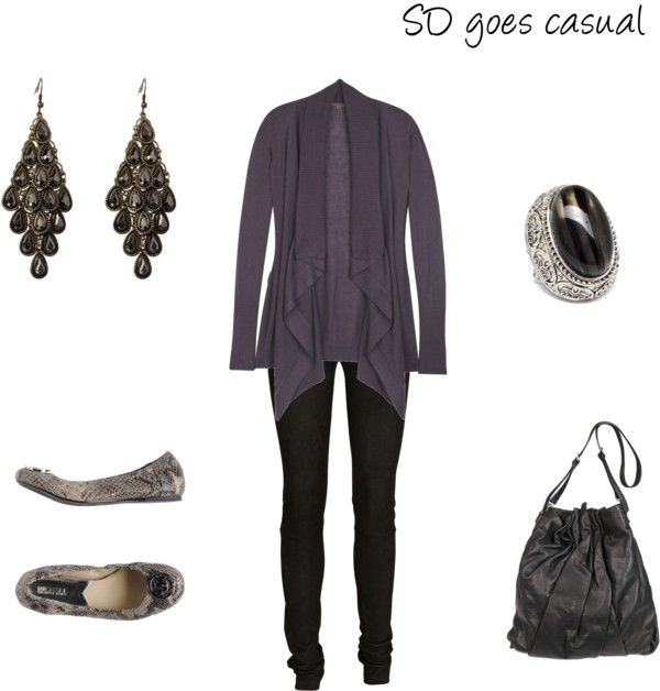 """""""SD goes casual"""" by cultivatingstyle ❤ liked on Polyvore"""