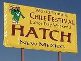 Hatch Chile Festival - Labor Day Weekend - Hactch, New Mexico - Try the green chile cheeseburger, green chile ice cream, chile Colorado con carne (red chile pork stew).