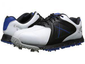 Callaway Xfer Sport (White/Blue) Men's Golf Shoes