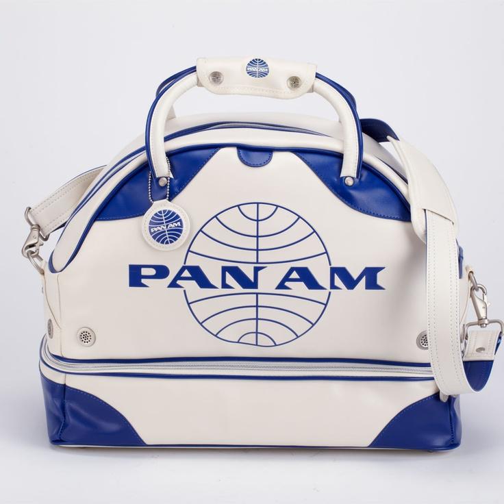 Pan Am vintage carryon bag! Bags, Stylish luggage
