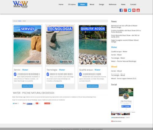 Water Wood Design - Newweblab.net  Internal Layout