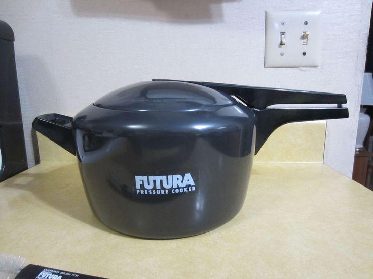Futura Pressure Cooker by Hawkins Hard Anodized 5.0 L Size NEW #Hawkins