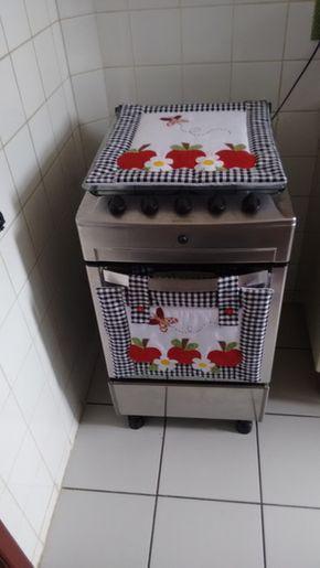 Kit para fogão 4 bocas