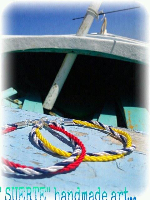 navy bracelets