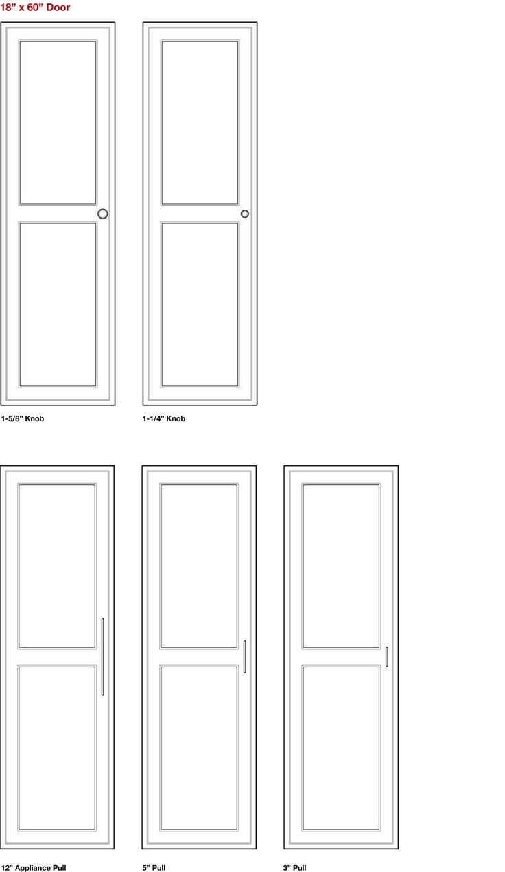 Relative Scale Large Doors