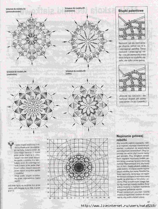 szydełkowe pisanki wzory