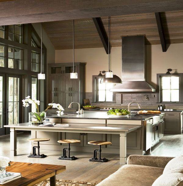 Modern Industrial Kitchen Design: 19 Best Kitchen Images On Pinterest