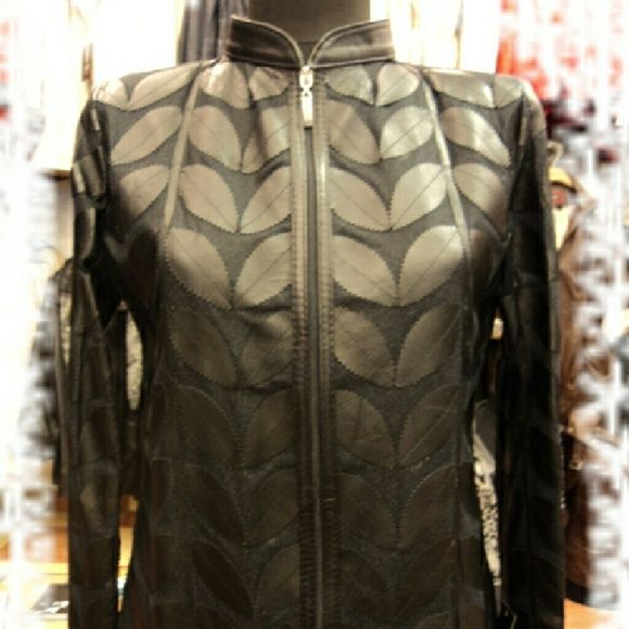 Black Genuine Leather Leaf Jacket for Women Handmade Very Soft Genuine Lambskin  Leather Leaf Jacket for Women. All Regular Sizes ( S - M - L - 1XL - 2XL ) are Available. 100% Made in TURKEY!  FREE WORLDWIDE SHIPPING by UPS:  YOUR ORDER WILL BE SHIPPED WITHIN 5 BUSINESS DAYS after receiving cleared payment! SHIPPING TAKES 5 BUSINESS DAYS!  RETURNABLE: 100% SATISFACTION GUARANTEED! In the case of ANY DISSATISFACTION ;  SHIP LEATHER JACKET BACK to us and then GET ALL YOUR REFUND BACK including…