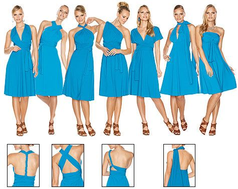The Moonberry Blog: Infinity Dress - my bridesmaids dresses! (different colour though)