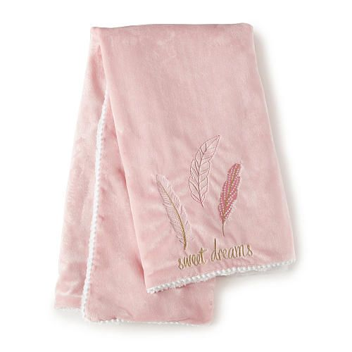 """Levtex Baby Little Feather Blanket - Coral - Levtex Baby - Babies """"R"""" Us"""