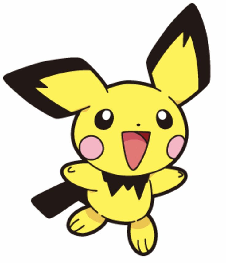 Pichu is a thunder pokemon with a passion and could take down Scooby Doo in his sleep. Description from dreager1.com. I searched for this on bing.com/images