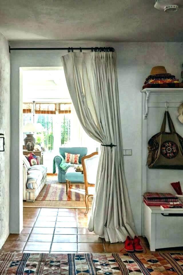 Kitchen Door Curtains Kitchen Door Curtains Door Curtains Ideas Best Doorway Curtain Ideas On Door Doorway Curtain Ideas Kit Huis Interieur Interieur Woonkamer