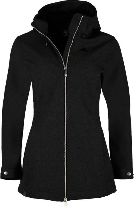 Macpac - black Chord softshell jacket