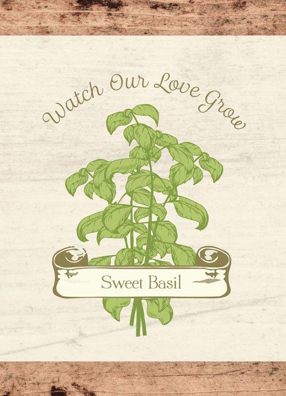 "Wedding ""Watch Our Love Grow"" Seed Favor – Bentley Seeds"