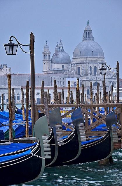 Santa Maria de le Salute, Venice, Italy