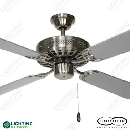 Antique Brass Majestic Coolah Ceiling Fan - Shop - Lighting Illusions Online