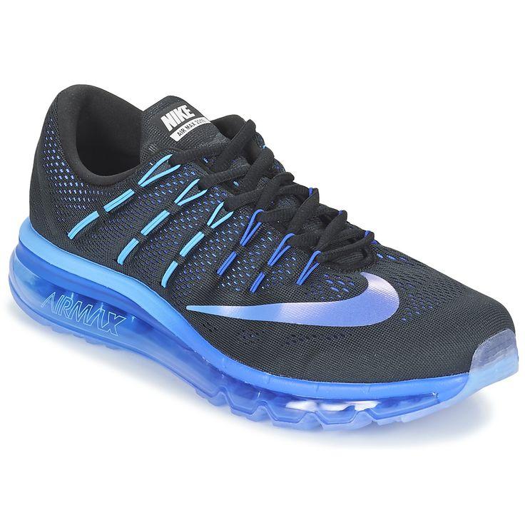 Nike AIR MAX 2016 Black / μπλέ