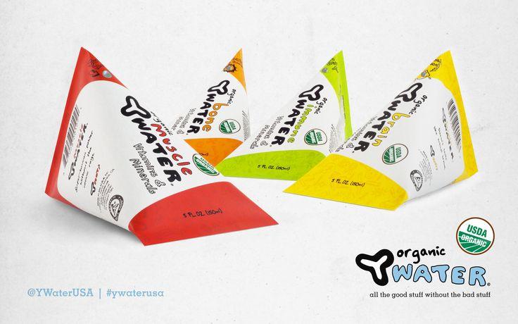 Y Water a healthy beverage for kids now in a retro-smart carton! #CartonSmart