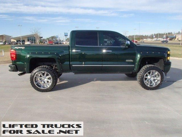 2015 Chevrolet Silverado 1500 High Country Lifted Truck 2015