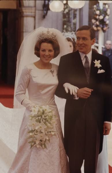 Koningin Beatrrix en Prins Claus. Queen Beatrix and Prince Claus of The Netherlands